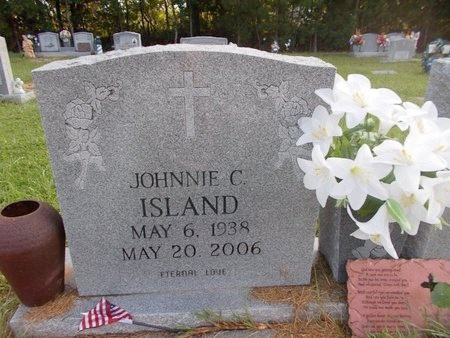 ISLAND, JOHNNIE C - Hancock County, Mississippi | JOHNNIE C ISLAND - Mississippi Gravestone Photos
