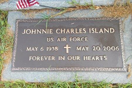 ISLAND (VETERAN), JOHNNIE CHARLES (NEW) - Hancock County, Mississippi | JOHNNIE CHARLES (NEW) ISLAND (VETERAN) - Mississippi Gravestone Photos