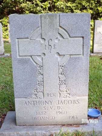 JACOBS, REV, ANTHONY - Hancock County, Mississippi | ANTHONY JACOBS, REV - Mississippi Gravestone Photos