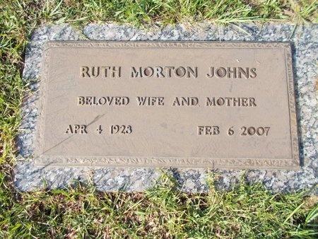 JOHNS, RUTH - Hancock County, Mississippi | RUTH JOHNS - Mississippi Gravestone Photos