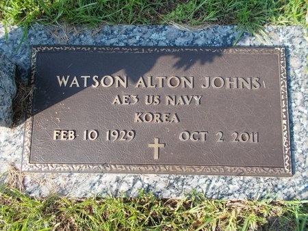 JOHNS (VETERAN KOR), WATSON ALTON (NEW) - Hancock County, Mississippi | WATSON ALTON (NEW) JOHNS (VETERAN KOR) - Mississippi Gravestone Photos