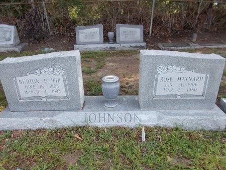 MAYNARD JOHNSON, ROSE - Hancock County, Mississippi | ROSE MAYNARD JOHNSON - Mississippi Gravestone Photos