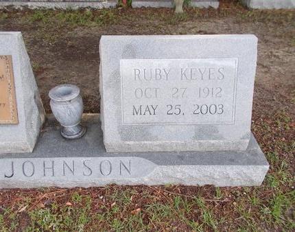 JOHNSON, RUBY - Hancock County, Mississippi | RUBY JOHNSON - Mississippi Gravestone Photos