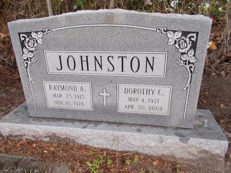JOHNSTON, RAYMOND A - Hancock County, Mississippi | RAYMOND A JOHNSTON - Mississippi Gravestone Photos
