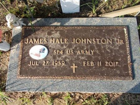 JOHNSTON (VETERAN), JAMES HALE, JR (NEW) - Hancock County, Mississippi   JAMES HALE, JR (NEW) JOHNSTON (VETERAN) - Mississippi Gravestone Photos