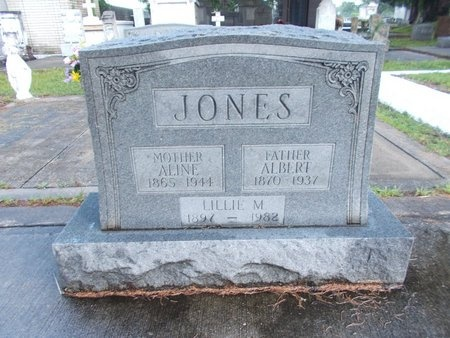 JONES, ALINE - Hancock County, Mississippi | ALINE JONES - Mississippi Gravestone Photos