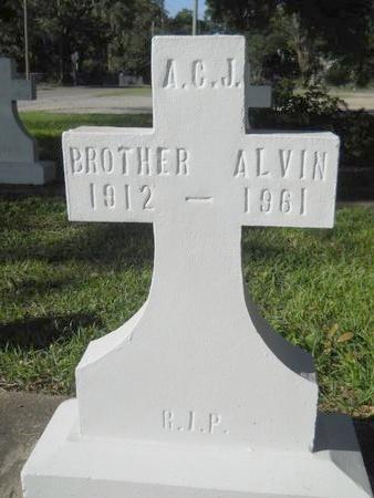 JONES, ALVIN (JOSEPH), BROTHER - Hancock County, Mississippi   ALVIN (JOSEPH), BROTHER JONES - Mississippi Gravestone Photos