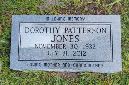 JONES, DOROTHY - Hancock County, Mississippi | DOROTHY JONES - Mississippi Gravestone Photos