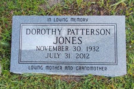 PATTERSON JONES, DOROTHY - Hancock County, Mississippi | DOROTHY PATTERSON JONES - Mississippi Gravestone Photos