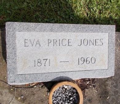 JONES, EVA - Hancock County, Mississippi   EVA JONES - Mississippi Gravestone Photos