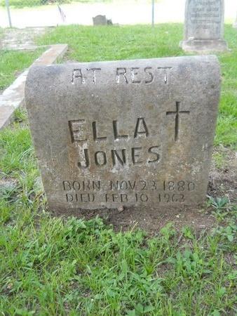 JONES, ELLA - Hancock County, Mississippi | ELLA JONES - Mississippi Gravestone Photos
