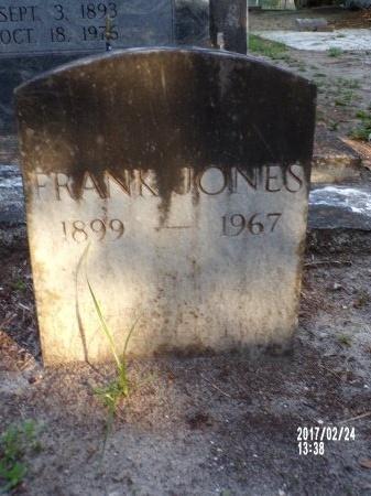 JONES, FRANK - Hancock County, Mississippi | FRANK JONES - Mississippi Gravestone Photos
