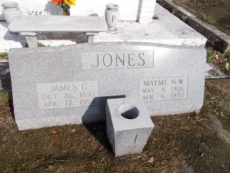 JONES, JAMES GILMORE - Hancock County, Mississippi | JAMES GILMORE JONES - Mississippi Gravestone Photos