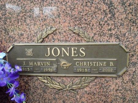 JONES, JAMES MARVIN - Hancock County, Mississippi | JAMES MARVIN JONES - Mississippi Gravestone Photos