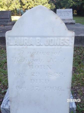 JONES, LAURA B - Hancock County, Mississippi | LAURA B JONES - Mississippi Gravestone Photos