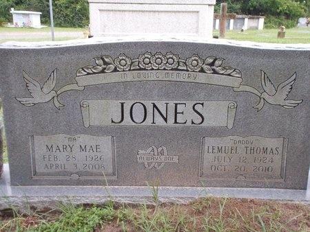 JONES, LEMUEL THOMAS - Hancock County, Mississippi | LEMUEL THOMAS JONES - Mississippi Gravestone Photos