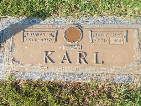 KARL, THOMAS M - Hancock County, Mississippi | THOMAS M KARL - Mississippi Gravestone Photos