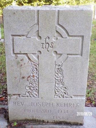 KEHRER, REV, JOSEPH - Hancock County, Mississippi   JOSEPH KEHRER, REV - Mississippi Gravestone Photos