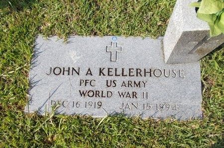 KELLERHOUSE (VETERAN WWII), JOHN A (NEW) - Hancock County, Mississippi | JOHN A (NEW) KELLERHOUSE (VETERAN WWII) - Mississippi Gravestone Photos