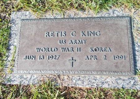 KING (VETERAN 2 WARS), RETIS C (NEW) - Hancock County, Mississippi | RETIS C (NEW) KING (VETERAN 2 WARS) - Mississippi Gravestone Photos
