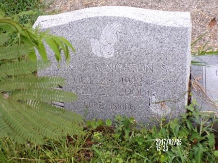 KINGSTON, ALVIN JAMES, SR - Hancock County, Mississippi | ALVIN JAMES, SR KINGSTON - Mississippi Gravestone Photos