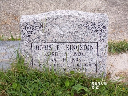 KINGSTON, DORIS - Hancock County, Mississippi | DORIS KINGSTON - Mississippi Gravestone Photos