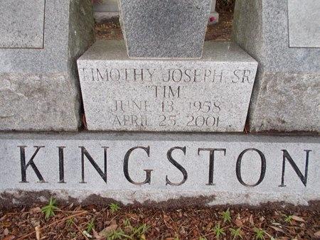 KINGSTON, TIMOTHY JOSEPH, SR (CLOSE UP) - Hancock County, Mississippi | TIMOTHY JOSEPH, SR (CLOSE UP) KINGSTON - Mississippi Gravestone Photos