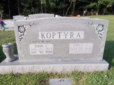 KOPTYRA, JOHN L - Hancock County, Mississippi | JOHN L KOPTYRA - Mississippi Gravestone Photos