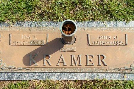 KRAMER, IDA L - Hancock County, Mississippi   IDA L KRAMER - Mississippi Gravestone Photos