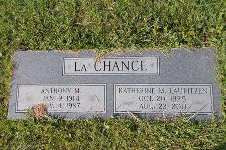 LAURITZEN LACHANCE, KATHERINE M - Hancock County, Mississippi | KATHERINE M LAURITZEN LACHANCE - Mississippi Gravestone Photos