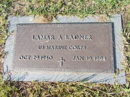 LADNER (VETERAN), LAMAR A (NEW) - Hancock County, Mississippi | LAMAR A (NEW) LADNER (VETERAN) - Mississippi Gravestone Photos