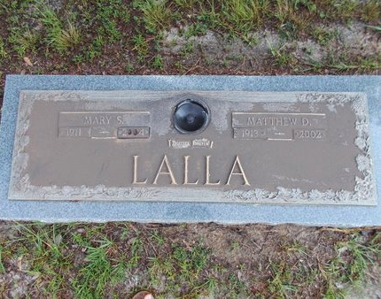 LALLA, MARY S - Hancock County, Mississippi | MARY S LALLA - Mississippi Gravestone Photos