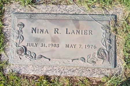LANIER, NINA R - Hancock County, Mississippi | NINA R LANIER - Mississippi Gravestone Photos