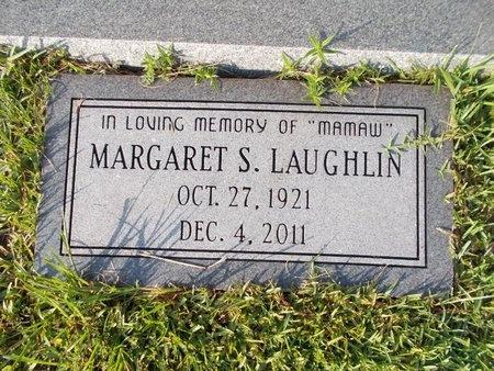 LAUGHLIN, MARGARET S - Hancock County, Mississippi   MARGARET S LAUGHLIN - Mississippi Gravestone Photos