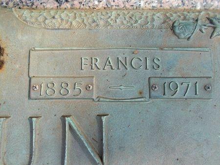 LEBRUN, FRANCIS (CLOSE UP) - Hancock County, Mississippi | FRANCIS (CLOSE UP) LEBRUN - Mississippi Gravestone Photos