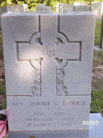 LEDOUX, REV, JEROME G - Hancock County, Mississippi   JEROME G LEDOUX, REV - Mississippi Gravestone Photos