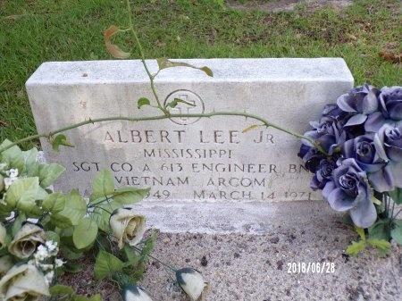 LEE (VETERAN VIET), ALBERT, JR (NEW) - Hancock County, Mississippi   ALBERT, JR (NEW) LEE (VETERAN VIET) - Mississippi Gravestone Photos