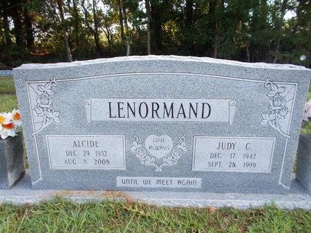 LENORMAND, ALCIDE - Hancock County, Mississippi   ALCIDE LENORMAND - Mississippi Gravestone Photos
