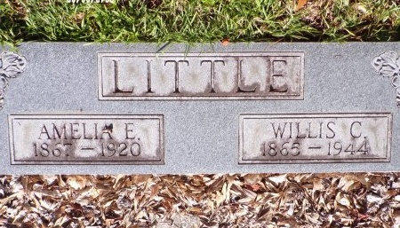 ELLIS LITTLE, AMELIA - Hancock County, Mississippi | AMELIA ELLIS LITTLE - Mississippi Gravestone Photos