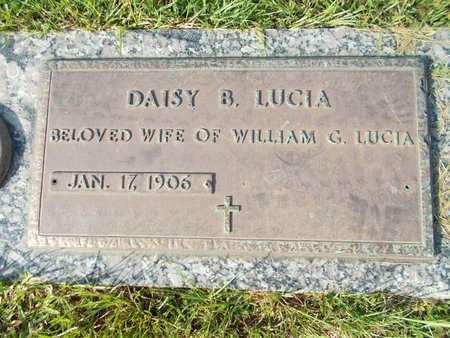 LUCIA, DAISY B - Hancock County, Mississippi | DAISY B LUCIA - Mississippi Gravestone Photos