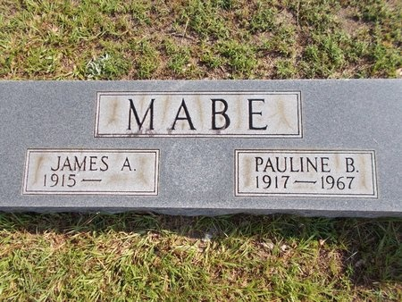 MABE, JAMES A - Hancock County, Mississippi | JAMES A MABE - Mississippi Gravestone Photos