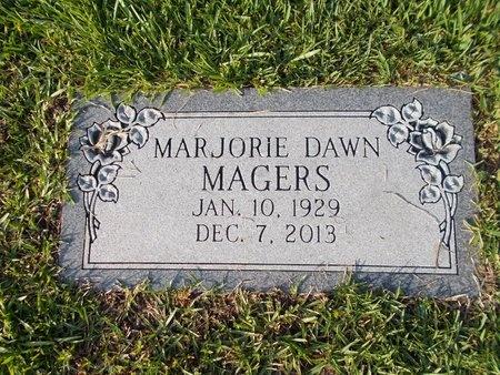 MAGERS, MARJORIE DAWN - Hancock County, Mississippi | MARJORIE DAWN MAGERS - Mississippi Gravestone Photos