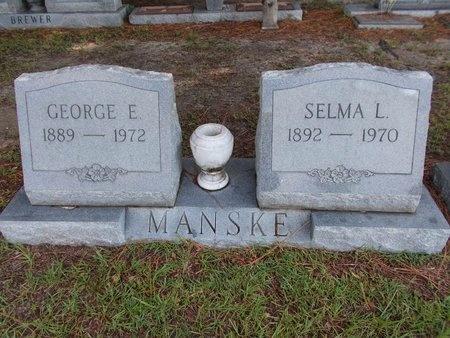 MANSKE, SELMA L - Hancock County, Mississippi | SELMA L MANSKE - Mississippi Gravestone Photos