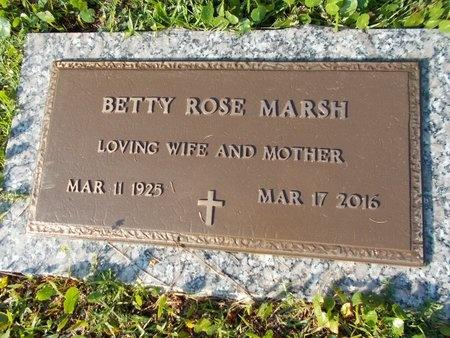 MARSH, BETTY ROSE - Hancock County, Mississippi   BETTY ROSE MARSH - Mississippi Gravestone Photos