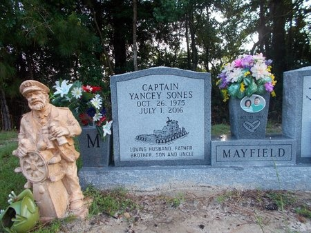 MAYFIELD, YANCEY SONES, CAPTAIN (OBIT) - Hancock County, Mississippi | YANCEY SONES, CAPTAIN (OBIT) MAYFIELD - Mississippi Gravestone Photos