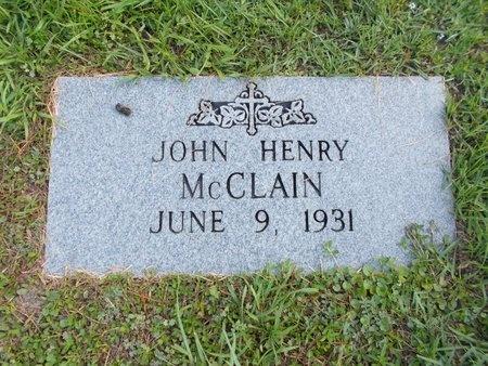 MCCLAIN, JOHN HENRY - Hancock County, Mississippi | JOHN HENRY MCCLAIN - Mississippi Gravestone Photos