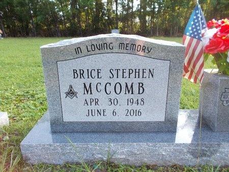MCCOMB, BRICE STEPHEN (OBIT) - Hancock County, Mississippi | BRICE STEPHEN (OBIT) MCCOMB - Mississippi Gravestone Photos