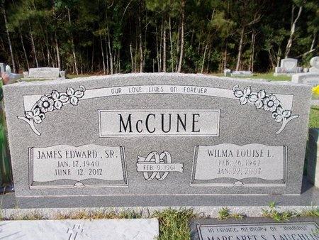 MCCUNE, JAMES EDWARD, SR - Hancock County, Mississippi | JAMES EDWARD, SR MCCUNE - Mississippi Gravestone Photos