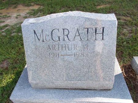 MCGRATH, ARTHUR M - Hancock County, Mississippi | ARTHUR M MCGRATH - Mississippi Gravestone Photos