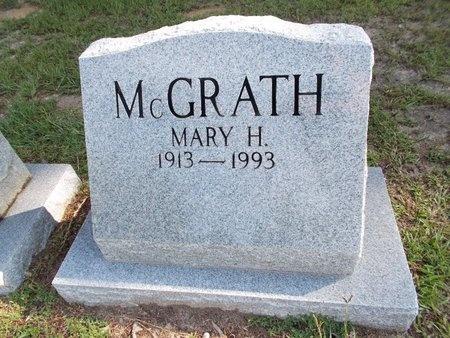MCGRATH, MARY H - Hancock County, Mississippi | MARY H MCGRATH - Mississippi Gravestone Photos